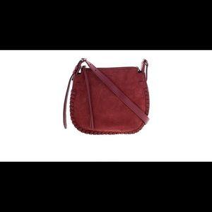 All Saints leather crossbody purse/bag